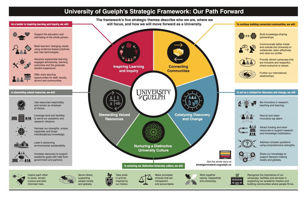 Strategic Framework infographic